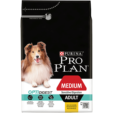 ​PURINA® PRO PLAN® Medium Adult Sensitive Digestion με OPTIDIGEST® Πλούσια σε Αρνί