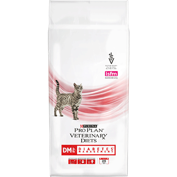 ​PURINA® PRO PLAN® VETERINARY DIETS Feline DM St/Ox Diabetes Management (Dry)