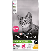 PURINA¬ PRO PLAN¬ STERILISED Adult 1+ Years with OPTIDIGEST¬ Rich in Chicken Front.png